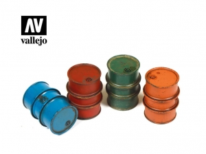 Vallejo Scenics SC203 Civilian Fuel Drums