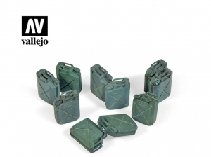 Vallejo Scenics SC206 Allied Jerrycan set