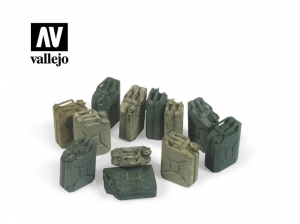 Vallejo Scenics SC207 German Jerrycan set