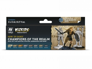 Wizkids Premium set by Vallejo: 80250 Champions of the Realm