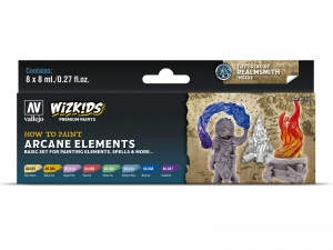 Wizkids Premium set by Vallejo: 80258 Arcane Elements