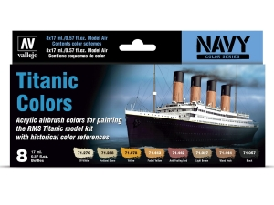 Vallejo Model Air Set 71646 Titanic Colors (8)