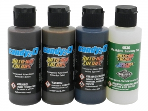Auto-Air Colors 049671 - candy2o A Sample Set 120 ml