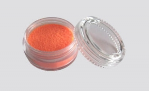 Třpytivý UV prášek Fengda Glitter orange 10 ml