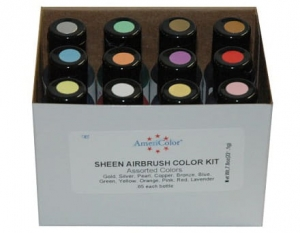 Set 12 Pearlescent barev Americolor (12x19ml)